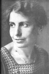 Retrato de la psicoanalista Anna Freud