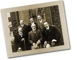 Foto de Freud en la Universidad de Clark