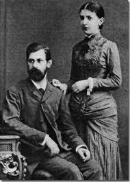 Freud y su esposa