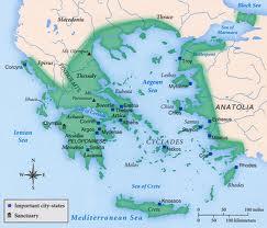 Mapa de la Grecia Clásica