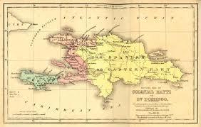 Haití map