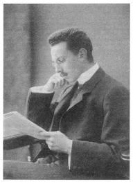 Retrato del joven Ludwig Binswanger