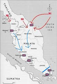 Mapa de Malaya