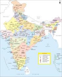 Imagen del mapa de la India