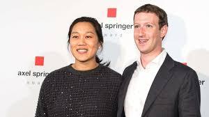 Mark Zuckerberg y la Dra. Priscilla Chan