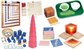 Material Didáctico del Método Montessori