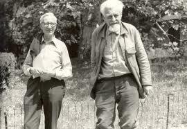 """Konrad Lorenz and Nikolaas Tinbergen"""