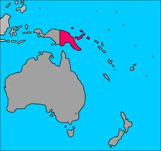 Mapa de Papua Nueva Guinea