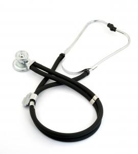 enfermedad y estetoscopio