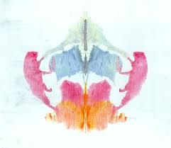 lámina en colores del Rorschach