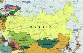 """""""Mapa de Rusia"""""""