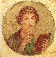 Retrato de Safo de Lesbos