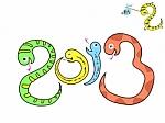 dibujo de serpientes