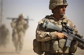 foto de un soldado