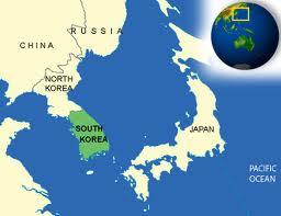 """Mapa de Corea del Sur"""