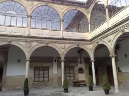 Patio de la Universidad de Baeza