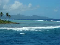 atolón de Micronesia