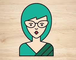 chica con lentes