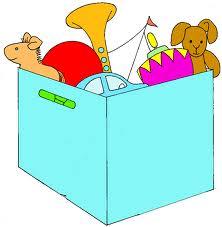 caja con juguetes