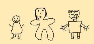 dibujos realizados por niños