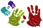 huellas de manos