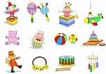 iconos de juguetes