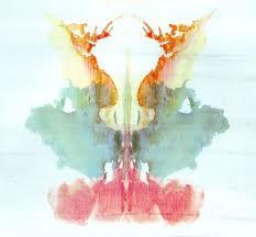 lámina del test de Rorschach