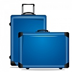 maletas azules