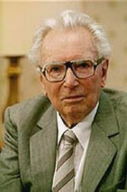 Retrato de Viktor Frankl