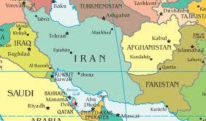 mapa de Iraq y Afghanistan
