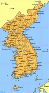 """Map of Korea"""