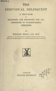 The Individual Delinquent book