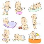 dibujo de bebés