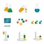 iconos químicos