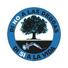 insignia de no a las drogas